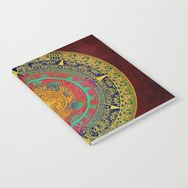 Aztec Sun God Notebook