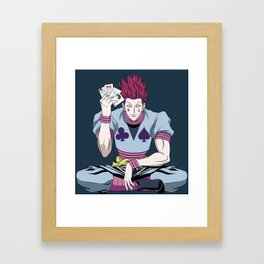 Perfect move Framed Art Print