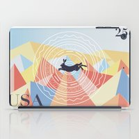 writer iPad Cases featuring For The Natural Writer by K Dvs