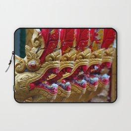 Temple Dragons Vientiane Laos Laptop Sleeve
