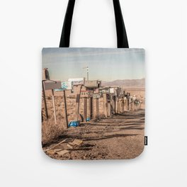 Letter boxes Tote Bag