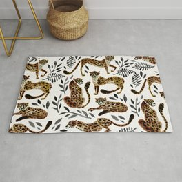 Cheetah Collection – Mocha & Black Palette Rug