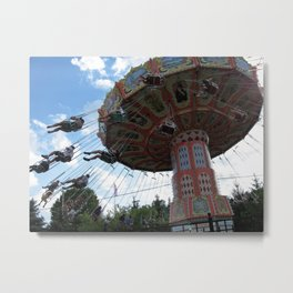 Bavarian Wave Swinger Metal Print