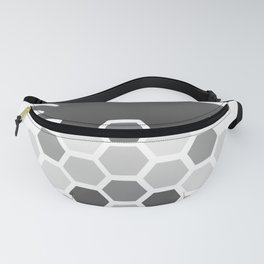 Pineapple black and white Fanny Pack