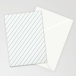 Blue Stripe Stationery Cards