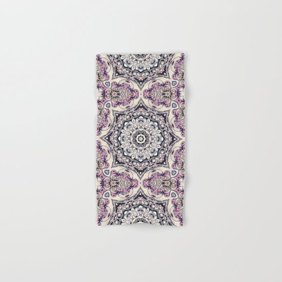 Abstract Octagonal Mandala Hand & Bath Towel