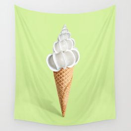 Sell ice cream Wall Tapestry