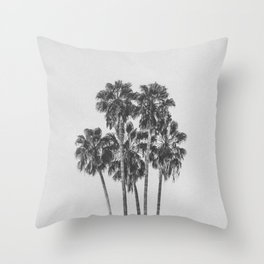 PALM TREES XI / Los Angeles, California Throw Pillow