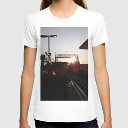 Urban sunset north London T-shirt