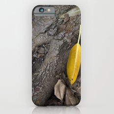 lone yellow leaf  Slim Case iPhone 6s