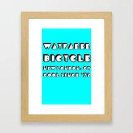 Cool Since '72 Aqua Framed Art Print