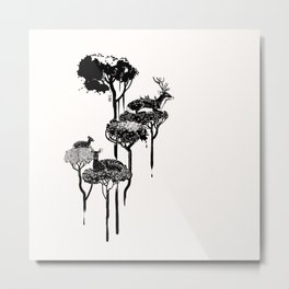 Deer to Dream Metal Print