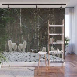 Call of the Wild - Wolf Pack Photographic Wall Mural