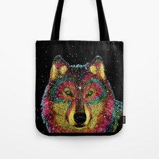 Cosmic Wild Animals Tote Bag