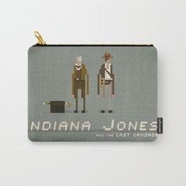 Pixel Art Indiana Jones Carry-All Pouch