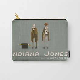 Pixel Art Indiana Jones Carry-All Pouch