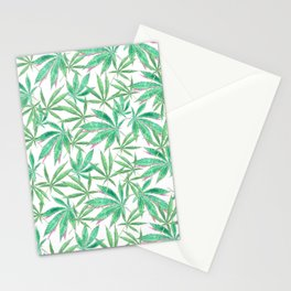 420 Leaves Stationery Cards