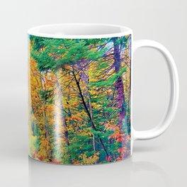 Back Road in the Fall Coffee Mug