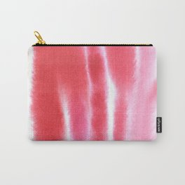 Chic Pink Print Carry-All Pouch