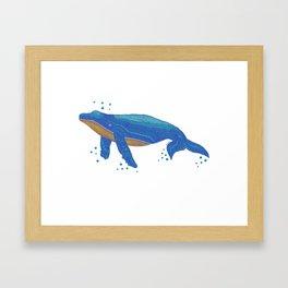 Spot A Whale Framed Art Print