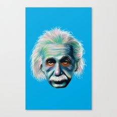 Colorful Einstein Canvas Print