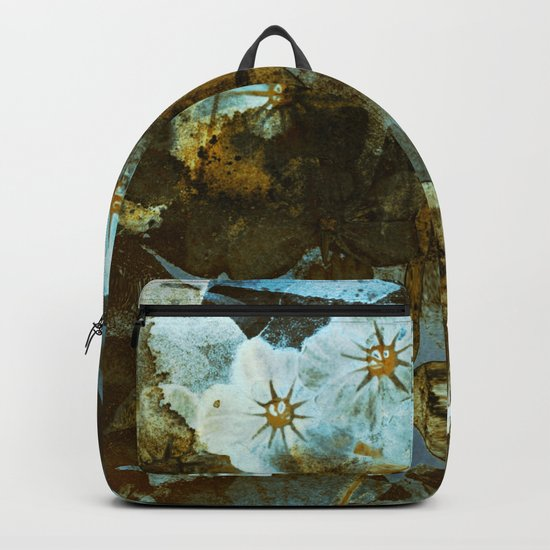 Fower in winter Backpack