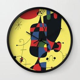 Joan Mirò #2 Wall Clock