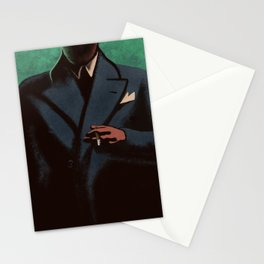 Man In The Dark Stationery Cards