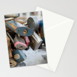 Padlocks Stationery Cards