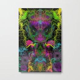 Crabgrass Entrancement (totem, psychedelic, visionary) Metal Print
