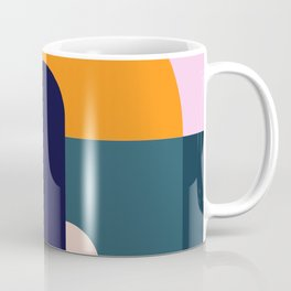 Sun Gazing Girl Coffee Mug
