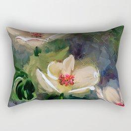 Night Blooming Dogwood Rectangular Pillow