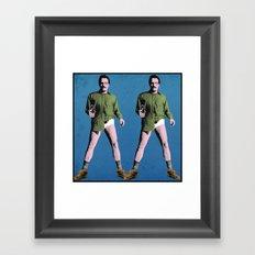 Double Walt Framed Art Print