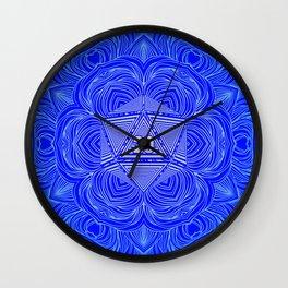 Natural 20 Mandala Purity of the Paladin Wall Clock