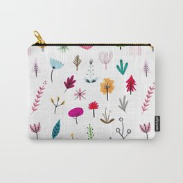 Plants & Flowers Carry-All Pouch