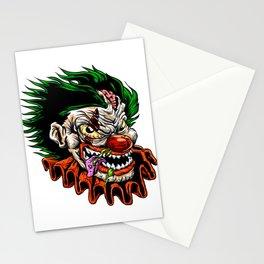 zombie evil clown Stationery Cards