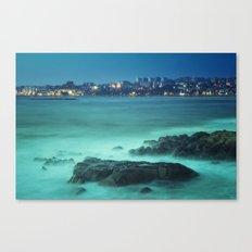 Milky Ocean Canvas Print
