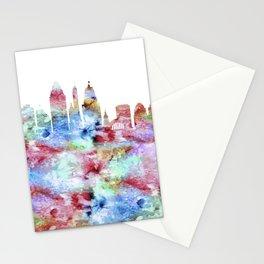 Cincinnati City Skyline Ohio Stationery Cards