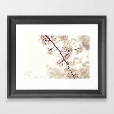 Music of Spring Framed Art Print