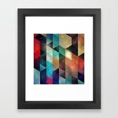 syy pyy syy Framed Art Print