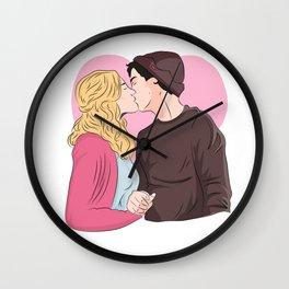 Bughead Wall Clock