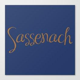 Sassenach Canvas Print