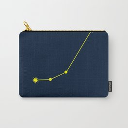 ARIES (YELLOW-NAVY BLUE STAR SIGN) Carry-All Pouch