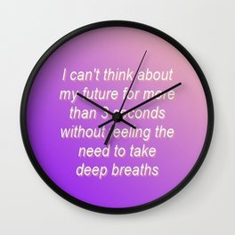 Gradient 1 Wall Clock