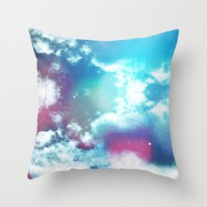 Message to Universe Throw Pillow