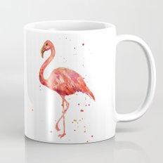 Flamingo, Pink Flamingo, Tropical, bird art, Florida Mug