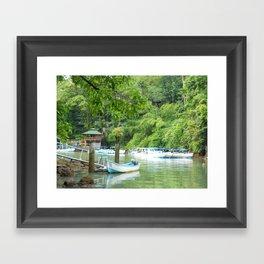 Drake's Bay Framed Art Print