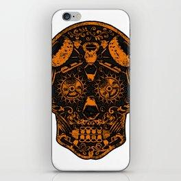 Strongman Sugar Skull, Dia De Los Deadlift iPhone Skin
