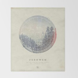Fernweh Vol 2 Throw Blanket