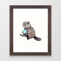 Dam Fine Coffee Framed Art Print